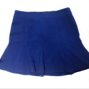 New with Tags! Flared Blue skirt Size 14